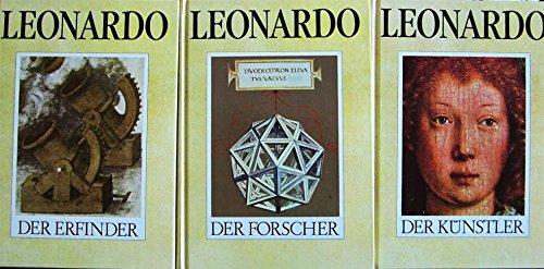 9783763017164: Leonardo da Vinci. Der Künstler / Der Forscher / Der Erfinder. Sonderausgabe: 3 Bände
