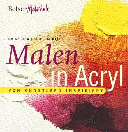 9783763024841: Malen in Acryl