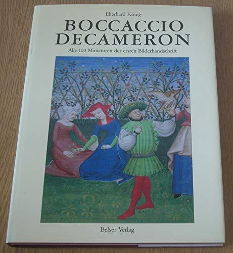 9783763057764: Boccaccio Decameron: Alle 100 Miniaturen der ersten Bilderhandschrift