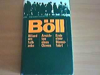 Boll: Billard um halb sehn, Ansichten eines: Heinrich Boll