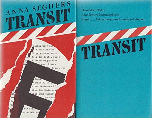 9783763230174: Bibliothek Exilliteratur: Transit, 2 B�nde (Bd. 1: Anna Seghers: Transit, Roman. Bd 2: Hans-Albert Walter: Anna Seghers' Metamorphosen. Transit Erkundungsversuche in einem Labyrinth)