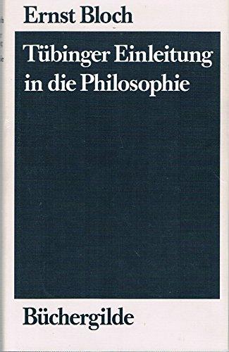 9783763231782: Tübinger Einleitung in die Philosophie.