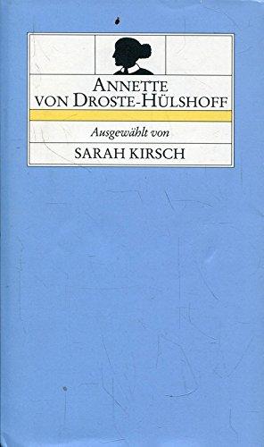 9783763232826: Annette von Droste-Hülshoff (Livre en allemand)