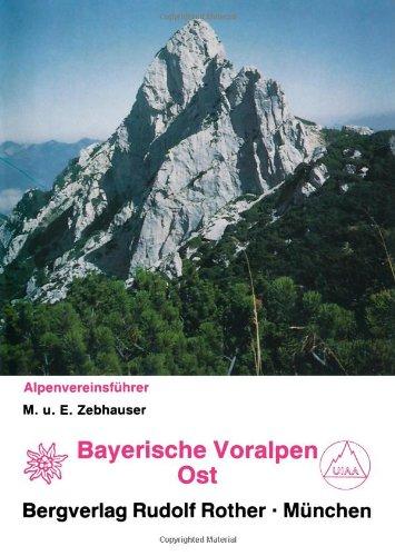 9783763311286: Bayerische Voralpen Ost. Alpenvereinsführer