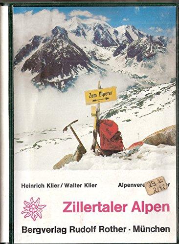 9783763312146: Zillertaler Alpen. AV-Führer (Livre en allemand)