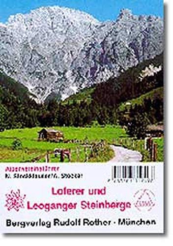 9783763312498: Loferer und Leoganger Steinberge