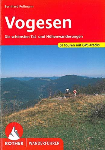 9783763340187: Vogesen. Rother Wanderführer. 50 ausgewählte Tal- und Höhenwanderungen.