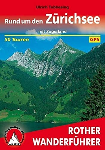 9783763340576: Rund um den Zürichsee mit Zugerland. Rother Wanderführer.