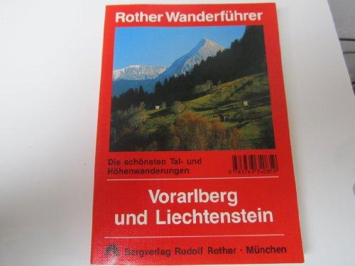 9783763340859: Vorarlberg und Liechtenstein. Wanderführer