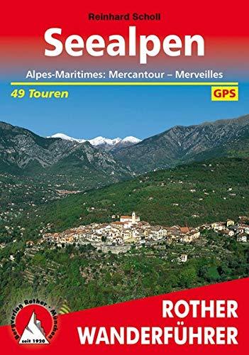 9783763341467: Seealpen: Alpes-Maritimes: Mercantour - Merveilles. 50 Touren. Mit GPS-Daten.