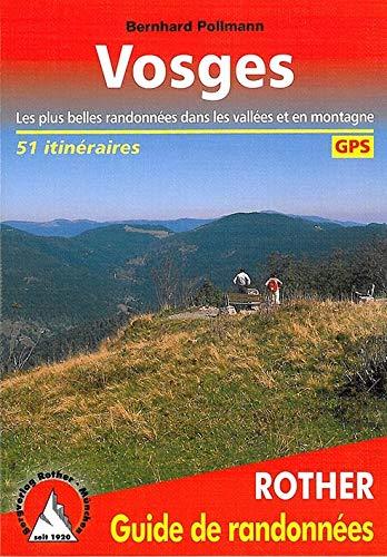 9783763341504: Vosges - Les 50 plus belles randonnées pédestres