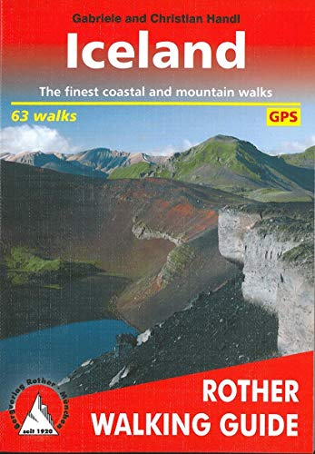 Iceland a Rother Walking Guide Red: Handl