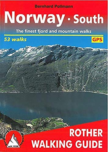 9783763348077: Norway South (Rother Walking Guides Europe) (English and German Edition)
