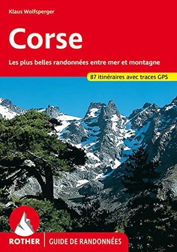 9783763349074: Corse. Les 75 plus belles randonnées entre mer et montagne