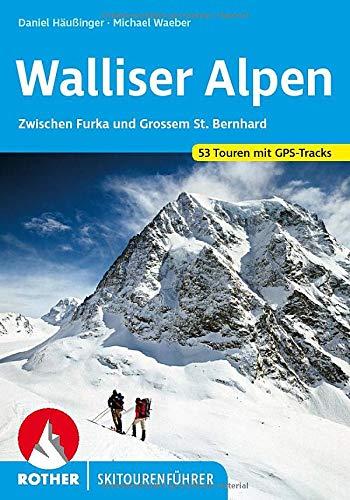 9783763359301: Walliser Alpen
