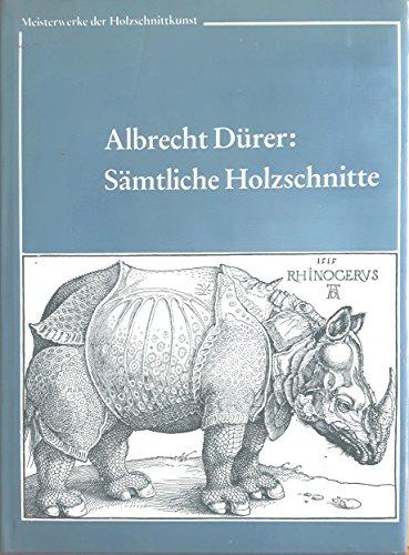 Sa?mtliche Holzschnitte (Meisterwerke der Holzschnittkunst) (German Edition): Du?rer, Albrecht