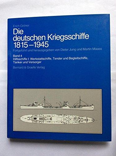 9783763748037: Die deutschen Kriegsschiffe 1815-1945, 8 Bde. in 9 Tl.-Bdn., Bd.4, Hilfsschiffe
