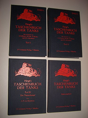 9783763751655: Heigl's Taschenbuch der Tanks.(Sonderausgabe)