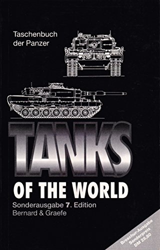 9783763758715: Tanks of the World. Taschenbuch der Panzer. Englische Ausgabe