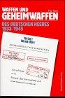 9783763759156: Waffen und Geheimwaffen des deutschen Heeres 1933-1945