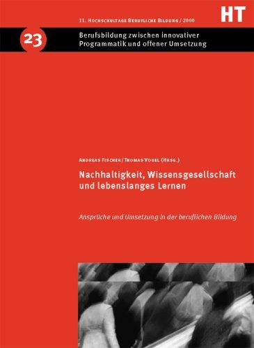 9783763901791: Nachhaltigkeit, Wissensgesellschaft und lebenslanges Lernen.