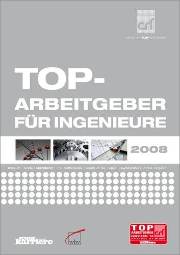 9783763934539: Top-Arbeitgeber f+�-+r Ingenieure 2008