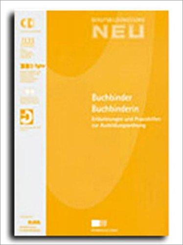 9783763937189: Buchbinder/Buchbinderin