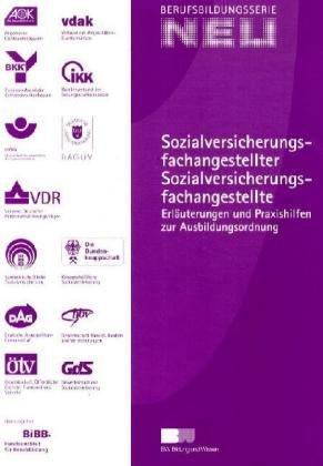 9783763938094: Sozialversicherungsfachangestellter / Sozialversicherungsfachangestellte