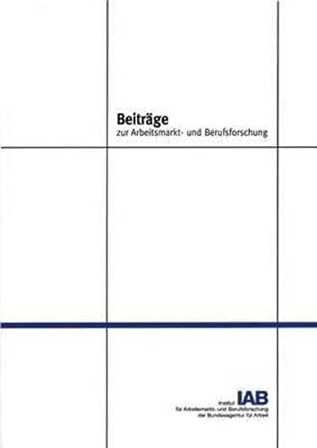 Die Entwicklung der ostdeutschen Regionen: Uwe Blien; Lorenz