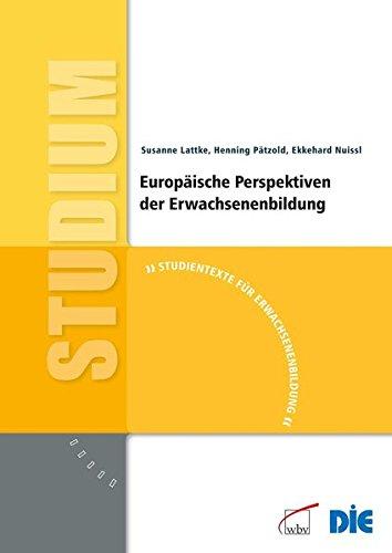 9783763942480: Europäische Perspektiven der Erwachsenenbildung