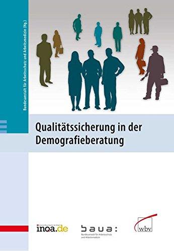 9783763942763: Qualit�tssicherung in der Demografieberatung