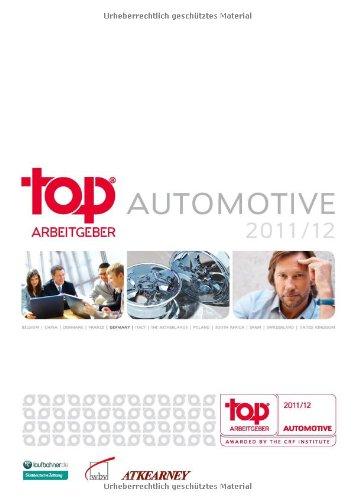 9783763948901: Top Arbeitgeber Automotive 2011/12