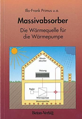 9783764003272: Massivabsorber. Die Wärmequelle für die Wärmepumpe.