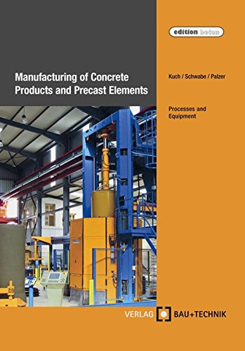 Manufacturing of Concrete Products and Precast Elements: Helmut Kuch