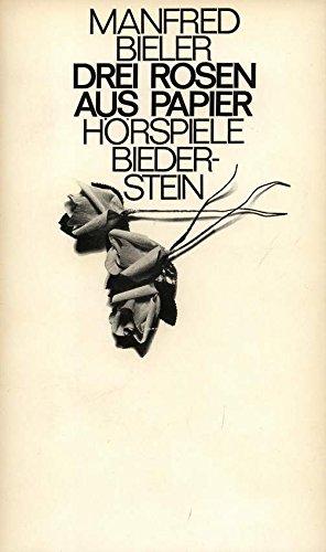 9783764201289: Drei Rosen aus Papier
