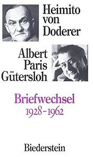 9783764201753: Briefwechsel, 1928-1962