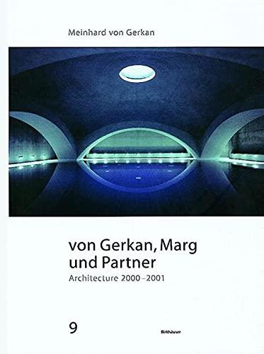 9783764307059: Von Gerkan, Marg Und Partner: Architecture 2000-2001 (BIRKHÄUSER)