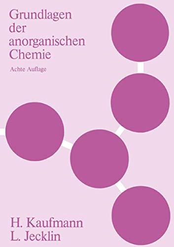 9783764309374: Grundlagen Der Anorganischen Chemie