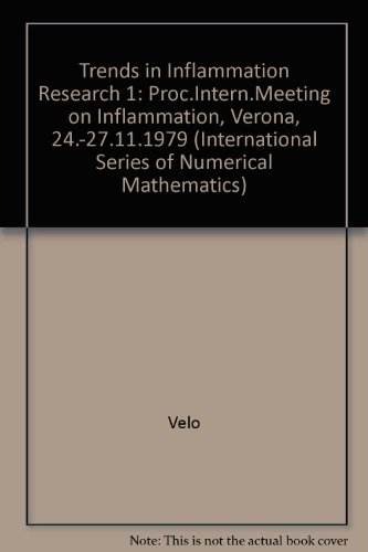 Trends in Inflammation Research 1 - Proceedings of the International Meeting on Inflammation, Ver...