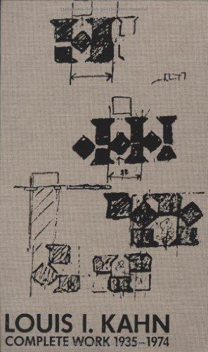 9783764313470: Louis I.Kahn: Complete Work 1935-1974