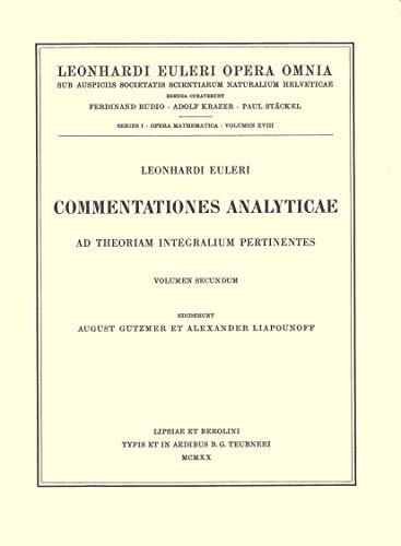 Commentationes Geometricae 3rd Part (Hardcover): Leonhard Euler