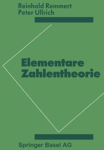 9783764318697: Elementare Zahlentheorie