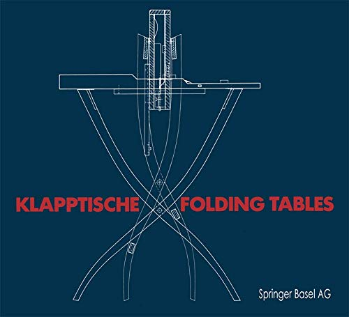 9783764319090: Klapptische/Folding Tables (German Edition)
