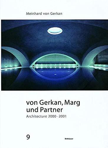 9783764321819: Architecture 2000-2001 (GMP Architekten Von Gerkan, Marg Und Partner) (BIRKHÄUSER)