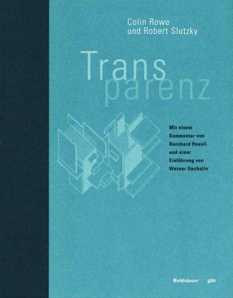 9783764322717: Transparenz (BIRKHÄUSER)