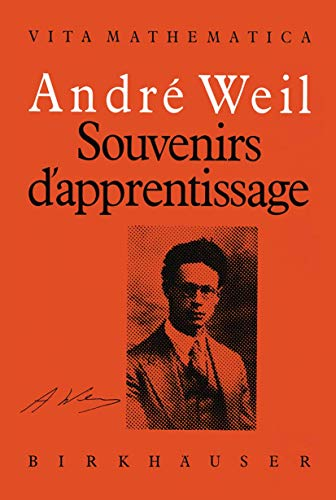 9783764325008: Souvenirs d'apprentissage (Vita Mathematica) (French Edition)