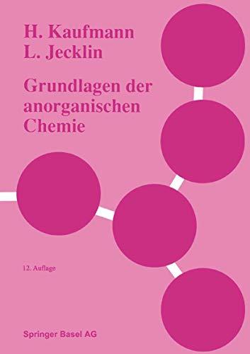 9783764325992: Grundlagen Der Anorganischen Chemie