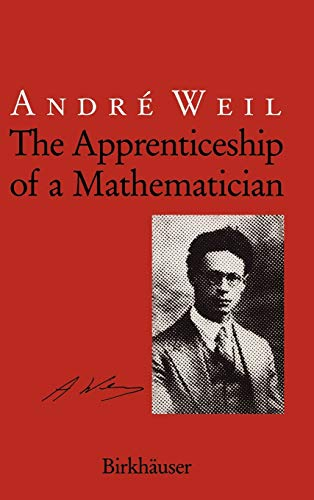 9783764326500: The Apprenticeship of a Mathematician