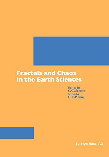 9783764328788: Fractals and Chaos in the Earth Sciences (Pageoph Topical Volumes)