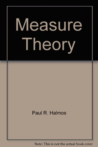 9783764330033: Measure Theory